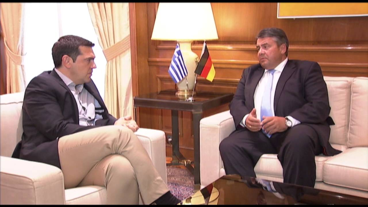 Συνάντηση με τον Αντικαγκελάριο κ. Ζίγκμαρ Γκάμπριελ