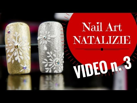 6 facili nail art in gel natalizie