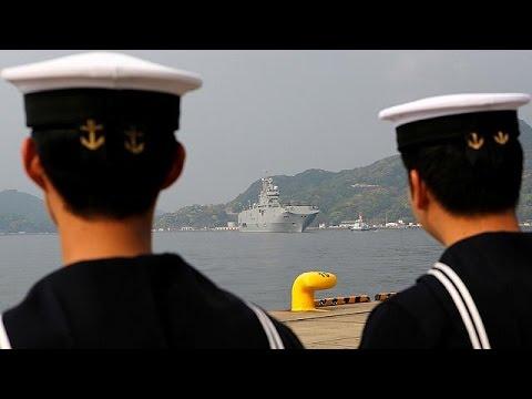 Ιαπωνία: Πρώτη αποστολή πολεμικού πλοίου εν καιρώ ειρήνης