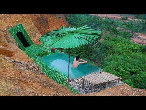 Build The Most Infinity Swimming Pool And Undergroud House On The Cliff - Thời lượng: 26 phút.