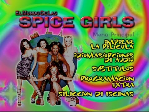 Spiceworld: La Película (1997) - Menu Spain │ DVD Brazil (R4)