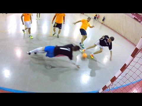 Best Goalkeeper Saves FUTSAL 2016 - Portero Futsal GoPro