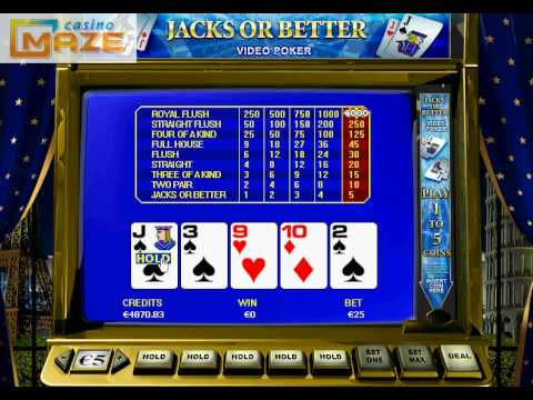Jacks or Better - This how to play Jacks or Better video lesson covers the basics of this easy, but fun game. For more tutorials and information on casino games, visit http://...