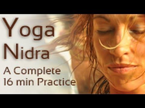 Yoga Nidra - Meditation & Guided Relaxation Training Script