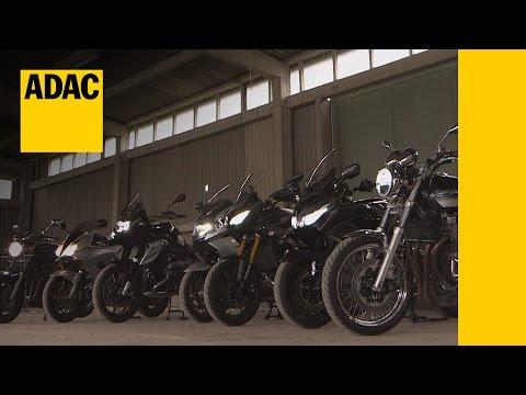 Systemvergleich Motorrad-Scheinwerfer   ADAC