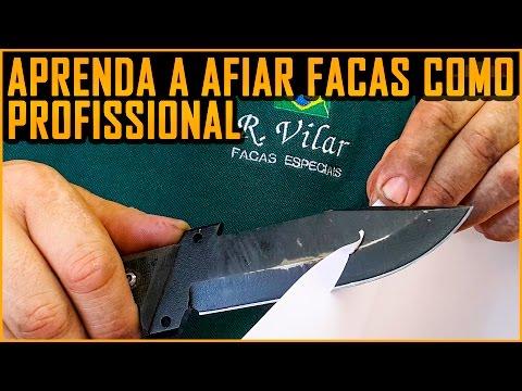 Afiar Faca, Aprenda com um Profissional (ft. Ricardo Vilar ) RVilar Knives