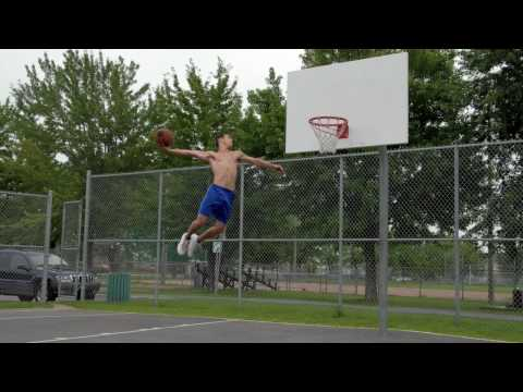 5'9 - SUBSCRIBE TO MY CHANEL.This video was 6 years ago. Low rim to 10 Feet in this video. YOU WANT TO SEE ME NOW: http://youtu.be/grsC4XYTEFs.
