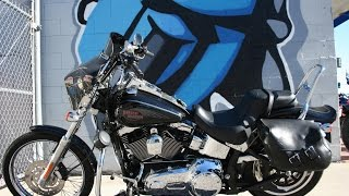 6. 2007 Harley Davidson Softail Custom FXSTC Motorcycle For Sale