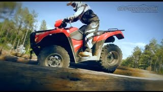 2. 2012 Honda FourTrax Foreman 4x4 ATV Review