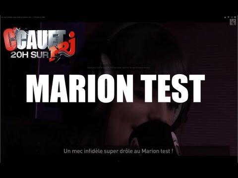 drole - Un mec infidèle super drôle au Marion test ! C'Cauet sur NRJ de 20h à 23h ! Pour plus de kiff, abonne-toi ! http://www.youtube.com/subscription_center?add_...