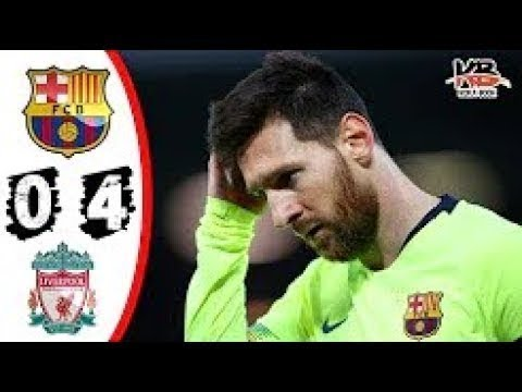 Liverpool vs Barcelona 4 - 0 / All Goals & Highlight | Full Match HD