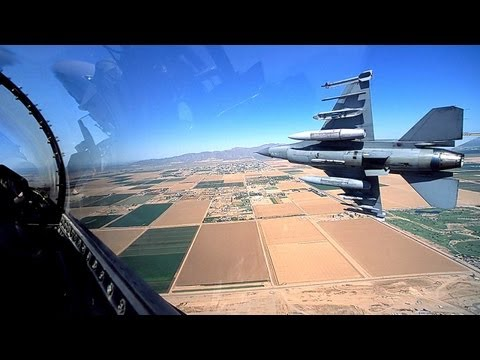 The future of aerial combat is...