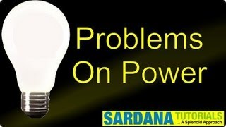 Problems On Power