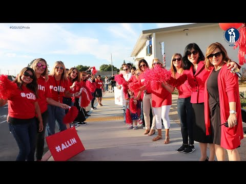 2018-19 GGUSD First Day of School