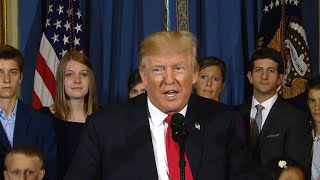 """President Trump spoke about health care on Monday at the White House, as Republican leadership still planned to vote on health care this week. Mr. Trump urged Republican senators that now is the time to """"keep their promise"""" to Americans.Subscribe to the """"CBSN"""" Channel HERE: http://bit.ly/1Re2MgSWatch """"CBSN"""" live HERE: http://cbsn.ws/1PlLpZ7Follow """"CBSN"""" on Instagram HERE: http://bit.ly/1PO0dkxLike """"CBSN"""" on Facebook HERE: http://on.fb.me/1o3Deb4Follow """"CBSN"""" on Twitter HERE: http://bit.ly/1V4qhIuGet the latest news and best in original reporting from CBS News delivered to your inbox. Subscribe to newsletters HERE: http://cbsn.ws/1RqHw7TGet your news on the go! Download CBS News mobile apps HERE: http://cbsn.ws/1Xb1WC8Get new episodes of shows you love across devices the next day, stream local news live, and watch full seasons of CBS fan favorites anytime, anywhere with CBS All Access. Try it free! http://bit.ly/1OQA29B---CBSN is the first digital streaming news network that will allow Internet-connected consumers to watch live, anchored news coverage on their connected TV and other devices. At launch, the network is available 24/7 and makes all of the resources of CBS News available directly on digital platforms with live, anchored coverage 15 hours each weekday. CBSN. Always On."""