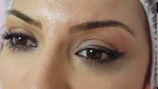 Groomed Microbladed Eyebrows