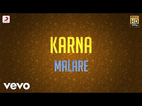 Video Karna - Malare Lyric | Arjun, Ranjitha | Vidyasagar download in MP3, 3GP, MP4, WEBM, AVI, FLV January 2017