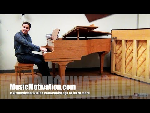 Piano FUNdamentals...How To Have Fun With COOL SONGS That Motivate Piano Students!