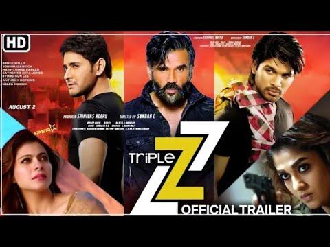 Triple Z Movie Official Trailer Sunil Shetty, Kajol, Mahesh Babu, Nayanthara, Allu Arjun