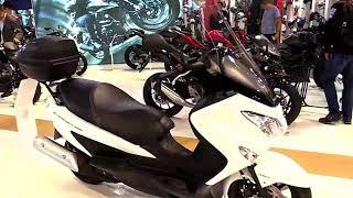 10. 2018 Suzuki Burgman 200 ABS Complete Accs Series Lookaround Le Moto Around The World