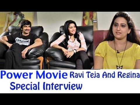 Power Movie Special Interview || Ravi Teja ||  Regina Cassandra || 02