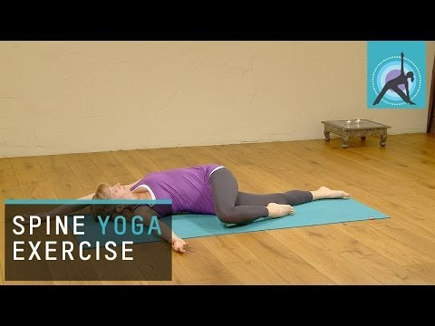 Yoga Exercise to Open the Spine