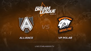 VP.Polar vs Alliance, game 1