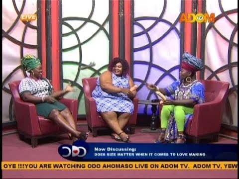 Does Size Matter When It Comes To Love Making - Odo Ahomaso On Adom Tv (31-1-19)