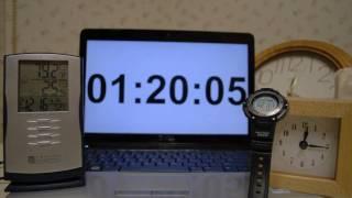Clocks Time Lapse