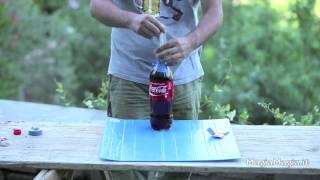 Coke + Mentos + Durex