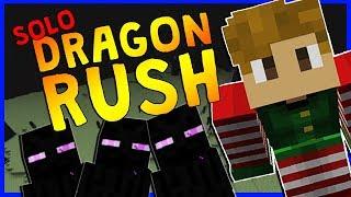 *NEW* DRAGON RUSH SOLO MODE!?   Minecraft Minigame