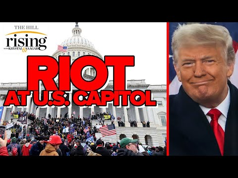 Krystal and Saagar REACT: Trump Incites Riot At US Capitol In Shameful Day Of US History