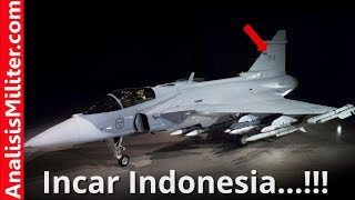Incar Indonesia, Swedia Genjot Pengembangan Jet Tempur Gripen E/F