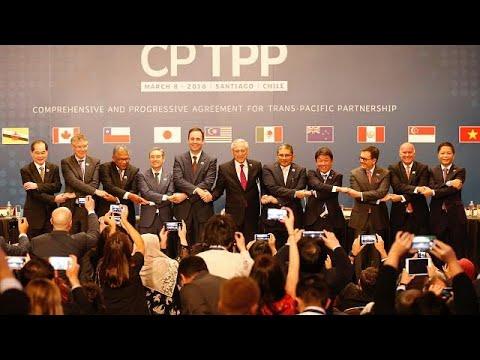 Pazifik-Handelsabkommen CPTPP ohne USA unterzeichne ...