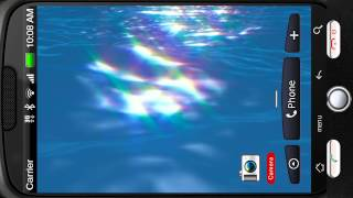 Ocean Surface Sunrays Dance 3D YouTube video