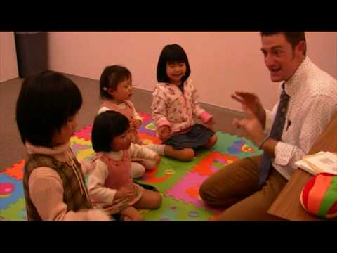 kindergarten - http://www.airegroup.jp/ Teaching English to kindergarten kids at Aire English school. We have an extensive Kindy Kids program at the school incorporating co...