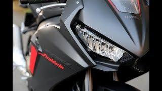 9. 2017 Fireblade - Riding Fast & Traffic Ride