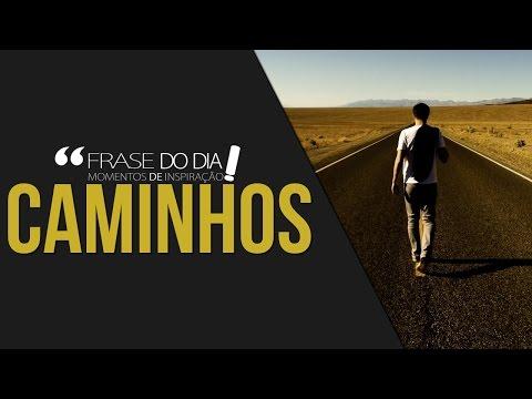 Frases de superação - FRASE DO DIA - O CAMINHO CERTO
