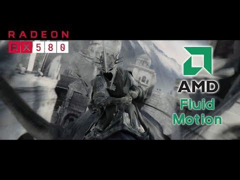 60Fps Lord of the Rings Movie: Nazgul invasion! /60프레임 영화 반지의제왕 (AMD Fluid motion, 플루이드 모션 적용)
