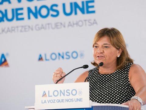 Isabel Bonig interviene en el encuentro de presidentes autonómicos del PP