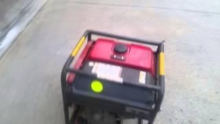 2. Honda EB3000C Generator Project