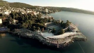 Opatija Croatia  city photos gallery : Opatija | Rivijera Opatija | Hrvatska iz zraka | Croatia | Aerial video | 4K