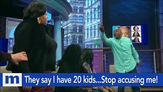 They say I have 20 kids...Stop accusing me! | The Maury Show