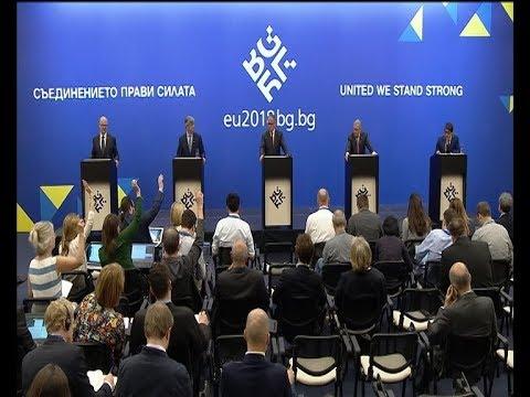 Συνέντευξη Τύπου μετά την ολοκλήρωση του Eurogroup στη Σόφια