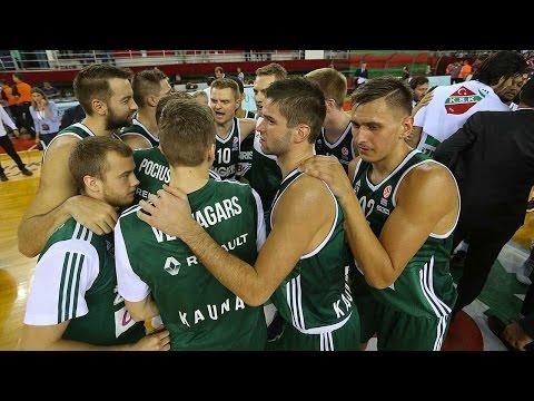 Highlights: RS Round 3, Pinar Karsiyaka Izmir 66-68 Zalgiris Kaunas