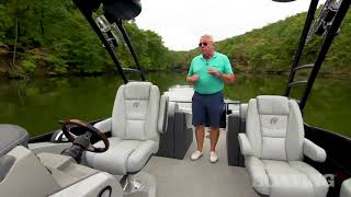 Check out the new 2018 Lowe Retreat 230 RFL Pontoon