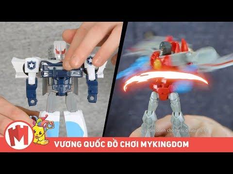 Transformers Đại chiến không gian | Người máy siêu cấp - 15cm - Thời lượng: 46 giây.