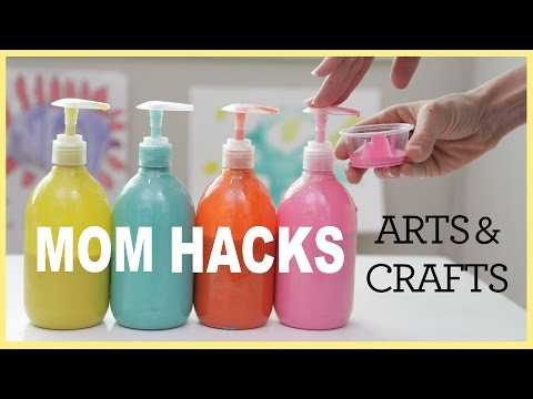 MOM HACKS ℠ | Arts & Crafts (Ep. 2) (видео)