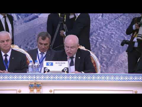 President of the Republic of Moldova held a speech at CIS Summit
