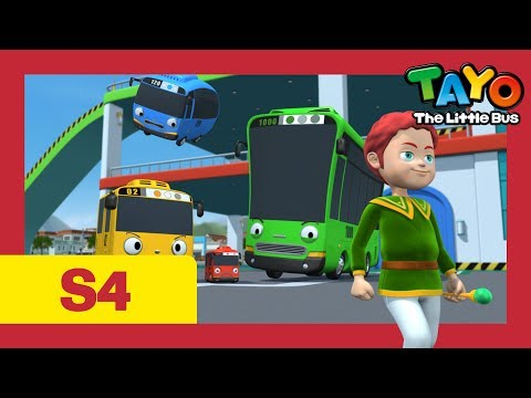 Tayo S4 EP15 l Asura the little wizard l Tayo the Little Bus l Season 4 Episode 15